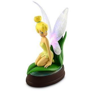 Disney Parks Tinker Bell Light Up Medium Big Fig Figure Figurine New