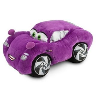 Disney Pixar Cars 2 Holley Shiftwell Large Stuffed Plush Doll Holly