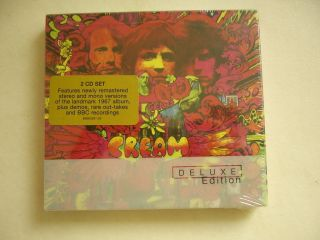 CREAM Disraeli Gears Deluxe Edition 2 CD Set NEW Eric Clapton