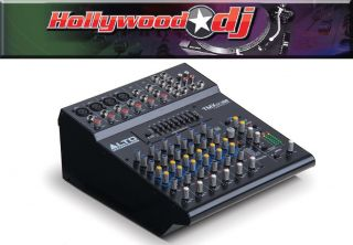 Alto TMX80DFX 8 Channel Powered Mixer with Effects Live Recording