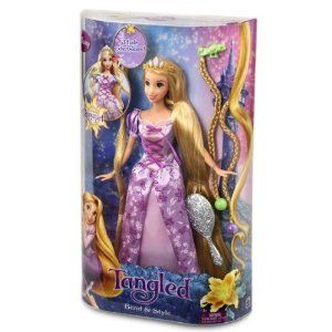 DISNEY TANGLED BEND & STYLE RAPUNZEL Doll NEW