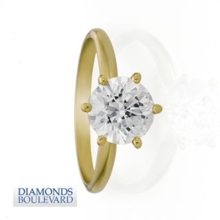 00 CT D VS CERTIFIED DIAMOND ANNIVERSARY RING WHITE GOLD 14K