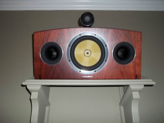 HTM4 Diamond Center Surround Speakers Mint less than 6 mos old