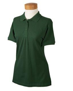 New Devon Jones Womens Organic Pique Polo Sport Shirt
