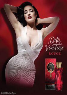 Dita Von Teese ROUGE For Women EDP 40 ml 1.35.oz New with Box