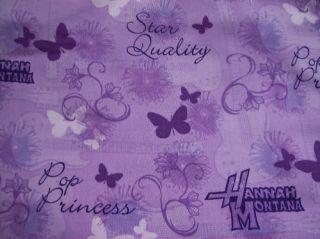 yds Disney Hannah Montana Guitars Butterflies Floral