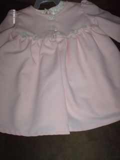 New Tag Wedding Flower Girl Pageant Dress SZ 24mos. 2piece coat and