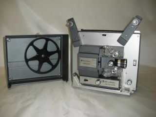 BELL & HOWELL 357B SUPER 8 MOVIE FILM PROJECTOR Make an Offer WORKS