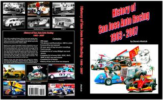 San Jose Speedway Super Modified Book Dennis Mattish
