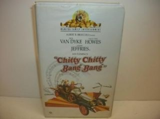 Bang VHS Fun Family Movie Clamshell Dick Van Dyke 027616512130
