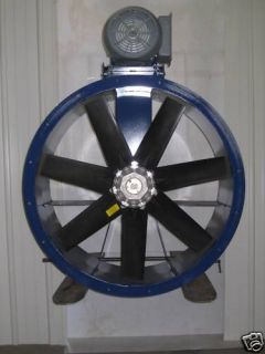 48 Dia Tube Axial Exhaust Fan Great for Spray Booths