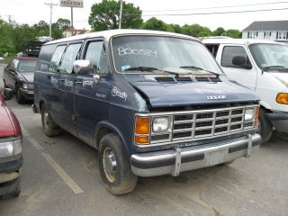 88 89 Dodge RAM 150 Pickup Engine 8 318 5 2L Vin Y