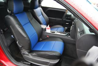 Dodge Challenger 2008 2012 s Leather Custom Seat Cover