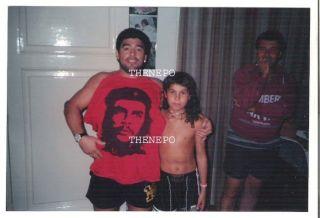Diego MARADONA Che Guevara Kids Swimsuit Smiling RR