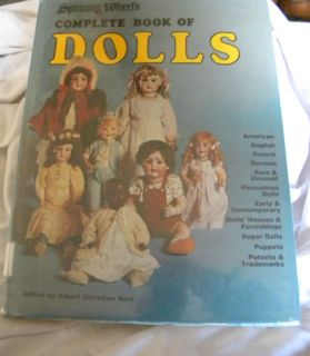 Antique Collectible Book Complete Book of Dolls by Spinning Wheels