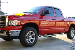 Dodge RAM Heavy Duty Tailgate Decal Truck Emblem L K