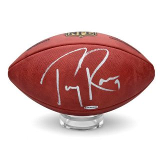 Tony Romo Autographed Wilson NFL Duke Football (