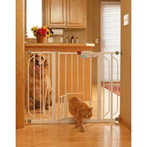 Extra Wide Walk Through Dog Cat Gate Baby Gate Free Shipping