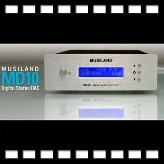 2011 Musiland Digital Audio Decoder DAC 24bit 192kHz MD10