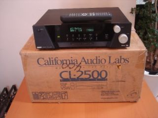 California Audio Labs CL 2500 Digital Surround Processor Preamplifier