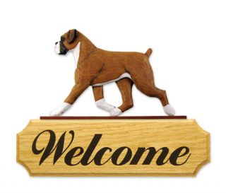 Welcome Sign Home Yard Garden Dog Wood Signs Products Gifts