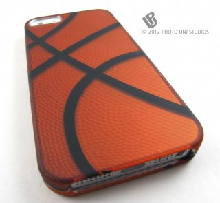 Basketball Design Hard Snap on Case Cover Apple iPhone 5 6th Gen