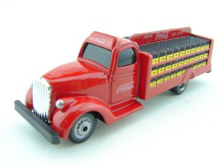 1938 Coca Cola Bottle Delivery Truck Red Diecast Model 1 87 HO Scale
