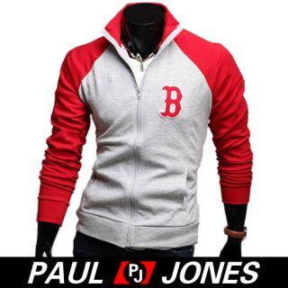 3mu Men Designer Slim Fit Jacket Blazer Coat Shirt Stylish 2Colors XS
