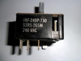 Inf 240p 730 Range Surface Element Infinate Switch 53R5 265M Appliance