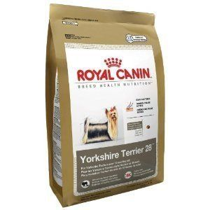 New Royal Canin Dry Dog Food Yorkshire Terrier 28 Formula Free SHIP