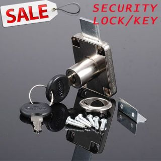 Locker Desk Cupboard Furniture Cabinet Drawer Security Lock Key