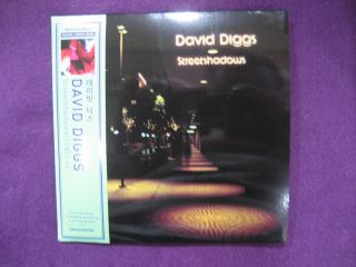 David Diggs Streetshadows 1985 2 MINI LP CD new