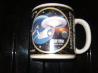 Star Trek Collectable Mug Enterprise Mint Condition