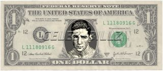 Willie Pep Dollar Bill Mint Real $$ Celebrity Novelty Collectible