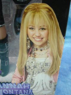 New Disney Hannah Montana Concert 22 Fashion Doll Singing Black White