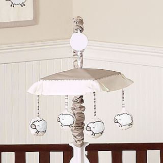 DESIGNS MUSICAL MOBILE FOR SHEEP LAMB FARM ANIMALS BABY CRIB BEDDING