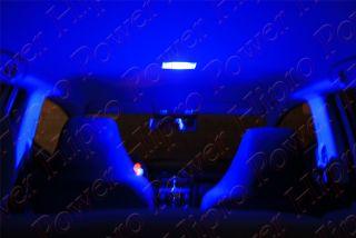 Blue LED License Plate Light Bulb for Honda S2000 Models