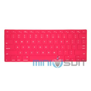 Silicone Keyboard Skin Cover for MacBook Mac Pro Air