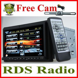 DIN in Dash Car Stereo DVD Player with TV Radio Tuner Bluetooth