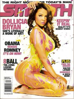 Smooth Magazine Dollicia Bryan Princess Love Dominique Issue 57