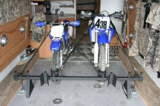 Bolt It on Toyhauler Rack Toy Rack MX Dirt Bike Street
