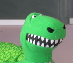 Toy Story T Rex Dinosaur Dino Puppet VGD 15 Long