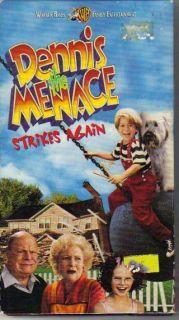 The Menace Strikes Again VHS 1998 Justin Cooper Don Rickles