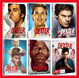 DEXTER THE COMPLETE SERIES SEASONS 1 6 BRAND NEW FACTORY SEALED 24 DVD