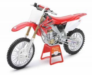 Red Bull Honda CFR450R 1 12 Scale Replica Dirt Bike Toys