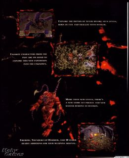 Diablo 1 + HellFire Expansion Pack PC CD action role playing RPG game