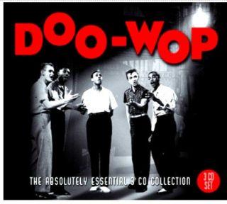 DOO WOP 60 ORIGINAL OLDIES 3 CDS TEEN QUEENS THE CREST MANY MORE