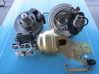Dodge Plymouth Mopar Power Disc Brake Conversion Kit