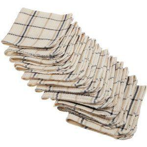 48 Kitchen Terry Cloth Cotton Dishcloth Towel Washcloth