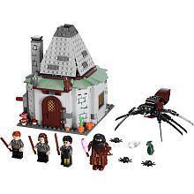 Lego 4738 HARRY POTTER Set HAGRIDS HUT New DISCONTINUED Sealed Box HTF